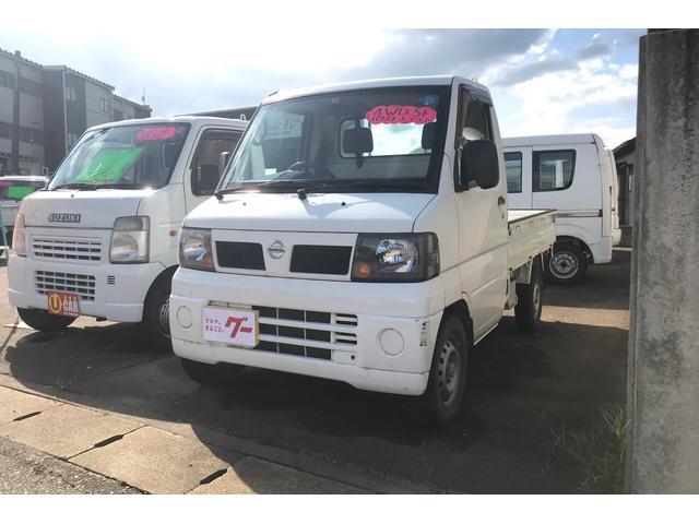 日産 DX 4WD AC MT 軽トラック ホワイト PS