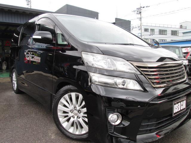 トヨタ 2.4Z ローダウン 純正ナビ後部モニター 禁煙車
