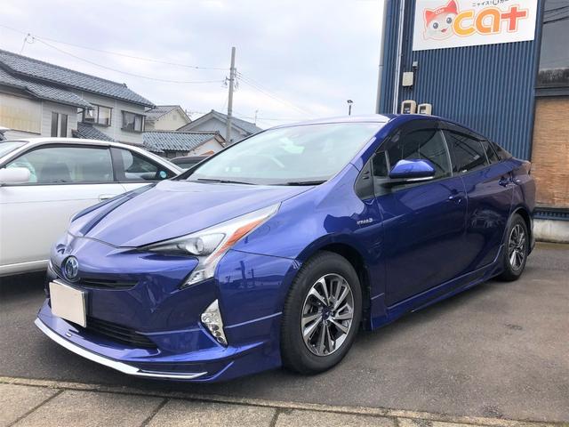 「トヨタ」「プリウス」「セダン」「福井県」の中古車