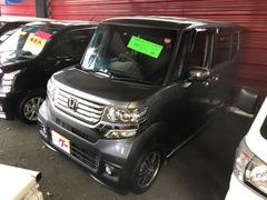 N BOX+カスタムG・Lパッケージ ナビ TV 軽自動車 ETC 4WD
