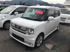 ピクシススペースカスタム RS TV ナビ 軽自動車 パールホワイトIII