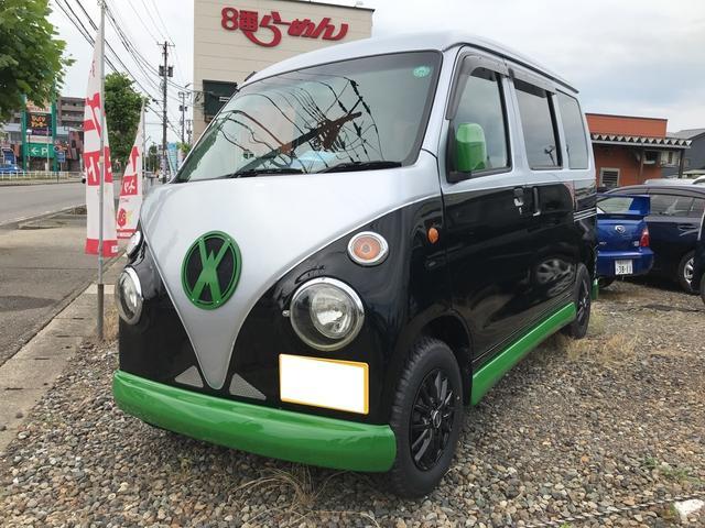 ダイハツ ヴィンテージ 4WD 5センチリフトアップ ナビ ハイルーフ