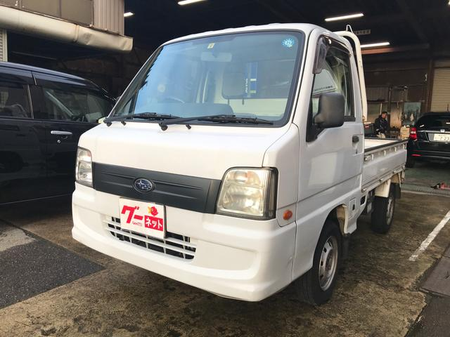 スバル TB 4WD 5MT エアコン ラジオ 三方開 軽トラック