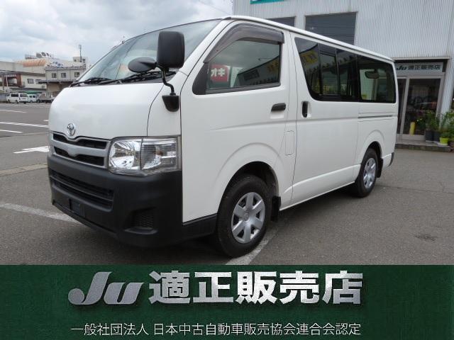 トヨタ ロングDX ディーゼル 4WD 純正ナビ
