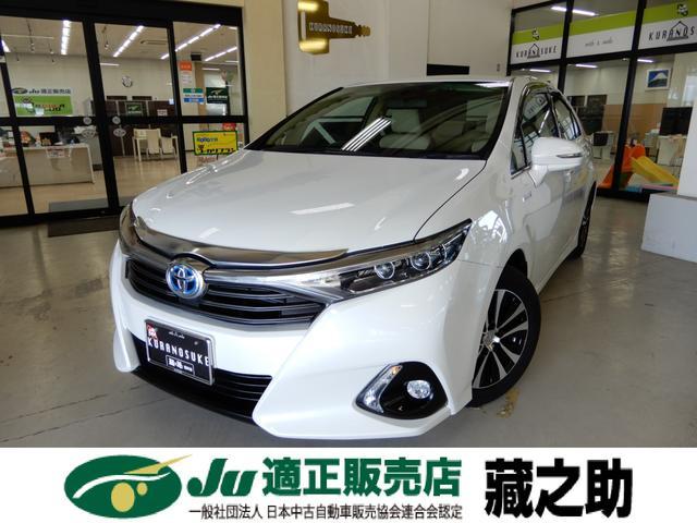 トヨタ S ワンオーナー 純正SDナビ フルセグTV LEDライト