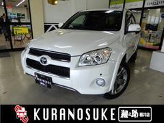 RAV4スポーツ 4WD 純正HDDナビ&TV 純正革調シートカバー