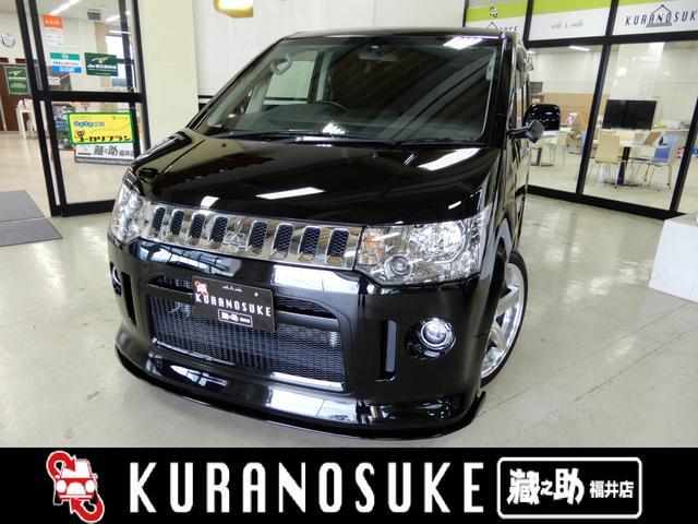 三菱 ローデスト G パワーパッケージ 4WD 20AW 車高調