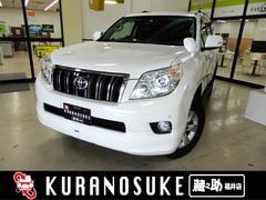 ランドクルーザープラドTX 4WD 5人乗り仕様 モデリスタスポイラー ナビ TV