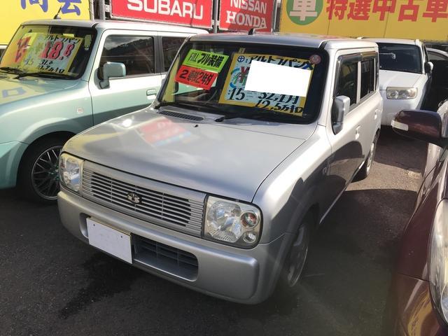 スズキ X 軽自動車 シルキーシルバーメタリック AT AC AW