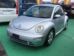 VW ニュービートルベースグレード レザー リアスポ ナビ ETC ローダウン