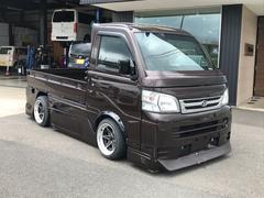 ハイゼットトラック4WD エアコン・パワステ スペシャル 三方開 全塗装