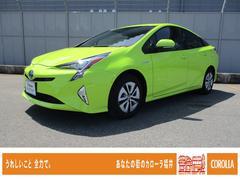 プリウスA 元当社社用車 トヨタセーフティセンスP BSM SDナビ