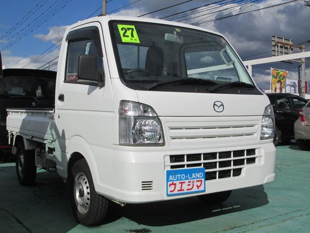 マツダ KCエアコン・パワステ 4WD 三方開き 保証付き