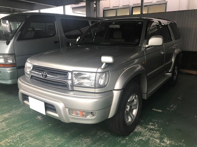 トヨタ ハイラックスサーフ SSR-X ナビ TV ETC キーレス