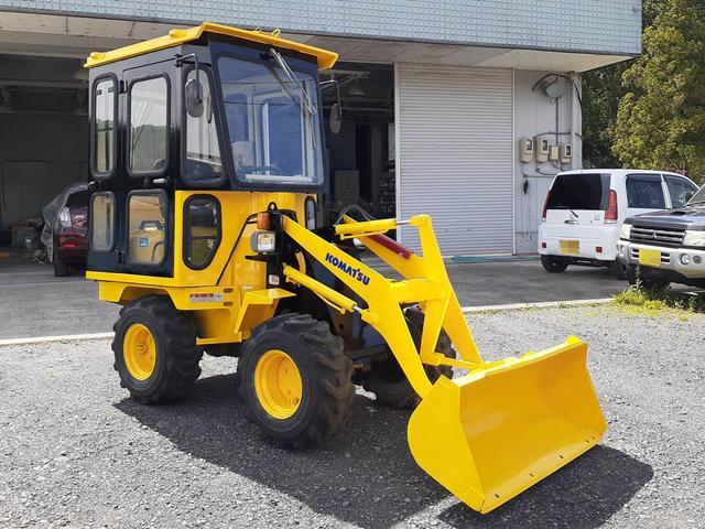 日本その他  コマツ WA10-1 タイヤショベル ホイルローダー キャビン付き