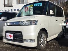 タントカスタムVS 4WD CD MD スマートキー 15アルミ