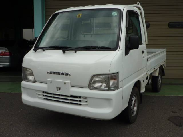 スバル JAスペシャル 4WD 5速MT 三方開