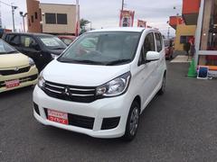 eKワゴンE キーレス連動ドアミラー シートヒーター 届出済軽未使用車