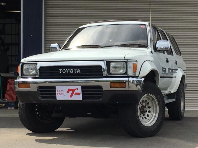 トヨタ SSRリミテッド4WD オートマ ETC 15AWサンルーフ