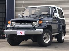 ランドクルーザー70ZX 4WD 5速MT ディーゼル リフトアップ アルミ