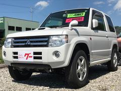 パジェロミニアクティブフィールドエディション 4WD ターボ ナビ