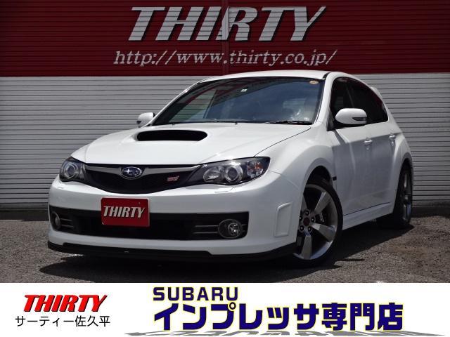 スバル WRX STi 4WD レカロ STIリップ 社外ナビ