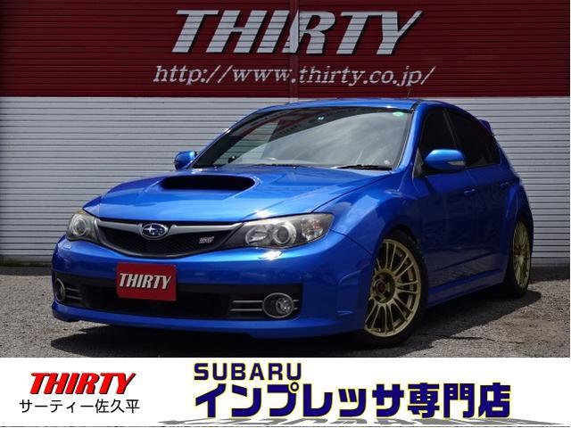 スバル WRX STi 4WD BLITZ車高調HKSエアクリーナー