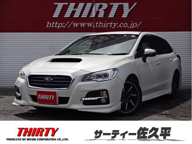 スバル 1.6GTアイサイト4WD ナビTV Bカメラ 純正エアロ