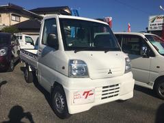 ミニキャブトラック4WD エアコン パワステ 5速マニュアル 三方開