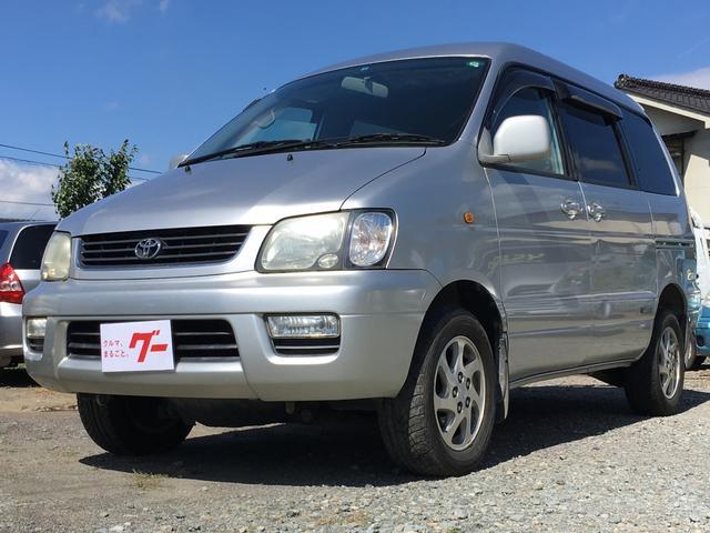 トヨタ Gエクサーブ 4WD 片側スライドドア ETC CD MD