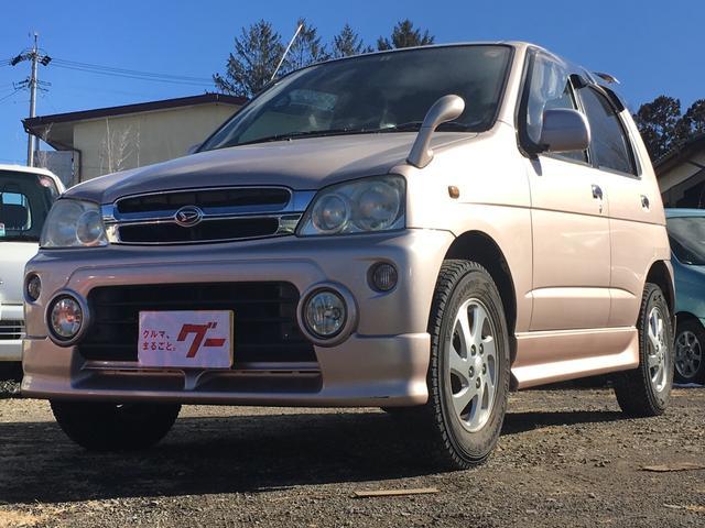 ダイハツ カスタムスターエディション4WD 1オーナー キーレス CD