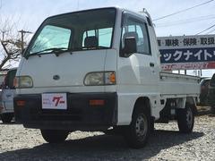 サンバートラックスペシャル 4WD 5速マニュアル CDオーディオ