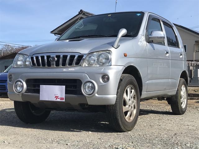 ダイハツ X 4WD ターボ タイミングベルト交換済 キーレス CD