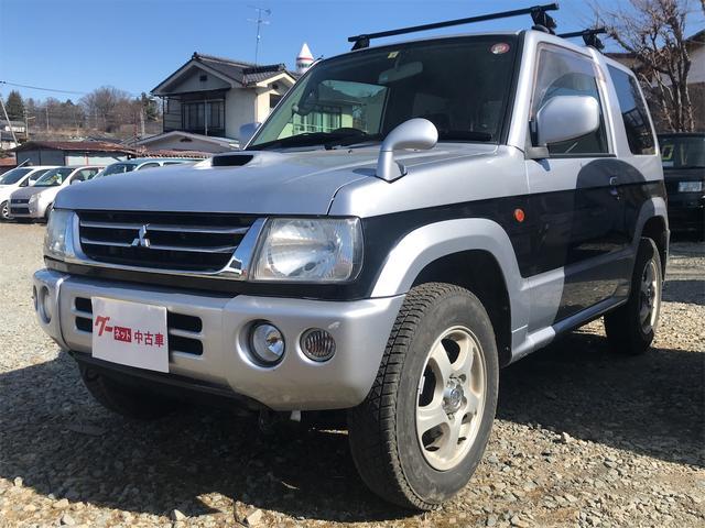 三菱 パジェロミニ  4WD ターボ オートマ タイベル交換済み キーレス ETC HDDナビ TV シートヒーター