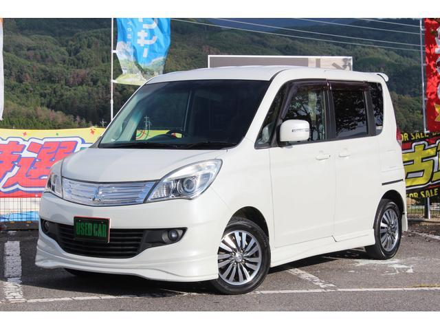 三菱 S ナビ 地デジ 両側電動ドア ETC スマートキー CVT