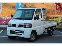 クリッパートラックDX 三方開 エアコン 4WD 5速MT パワステ