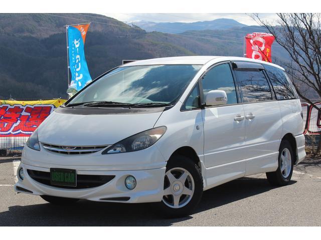 トヨタ アエラス 4WD ナビ ETC キーレス