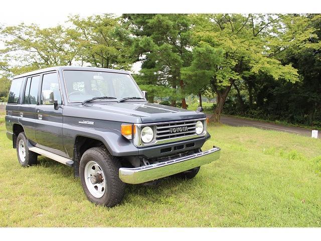 トヨタ LX ディーゼル 4WD 5速マニュアル
