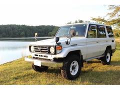 ランドクルーザー70LX ディーゼル 4WD エアコン パワステ