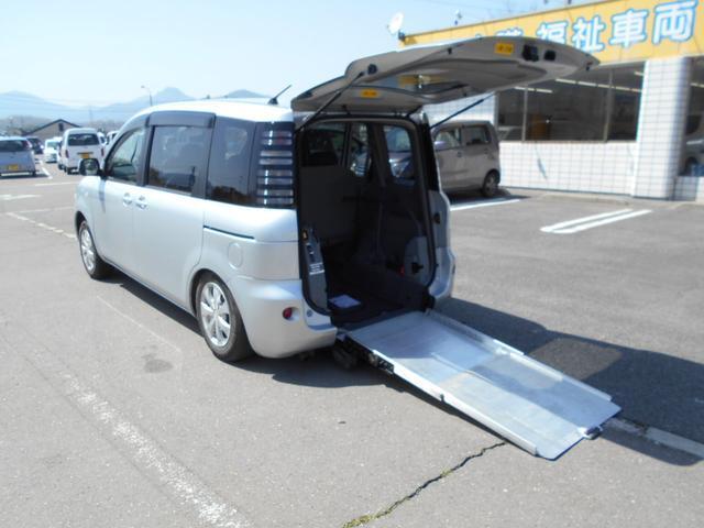 トヨタ X 車いす仕様タイプ1スロープ