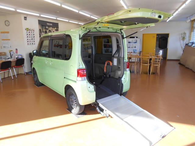 ダイハツ  スローパー リヤシート付 電動固定装置 ワンオーナー
