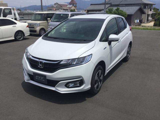 「ホンダ」「フィットハイブリッド」「コンパクトカー」「長野県」の中古車