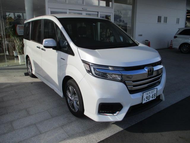 ホンダ ハイブリッド G・EX ホンダセンシング 当社デモカー