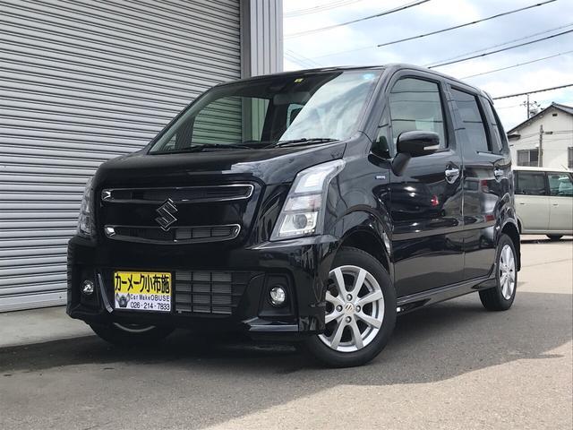 「スズキ」「ワゴンRスティングレー」「コンパクトカー」「長野県」の中古車