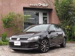 VW ゴルフTSIハイラインブルーモーションテクノロジー ターボ HID