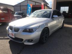 BMW530iハイラインパッケージ DVDナビ サンルーフ 黒革