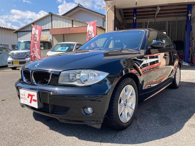 BMW 1シリーズ 120i ディーラー車 右ハンドル ETC 走行73515キロ 車庫保管