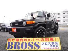 FJクルーザーブラックカラーPKG 1オーナー 4WD 社外ナビ