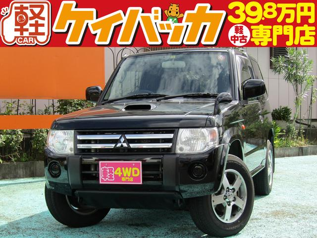 三菱 VR TB 4WD ケンウッドメモリナビ ワンセグTV ETC フル装備 Wエアバッグ 純正アルミ 装備