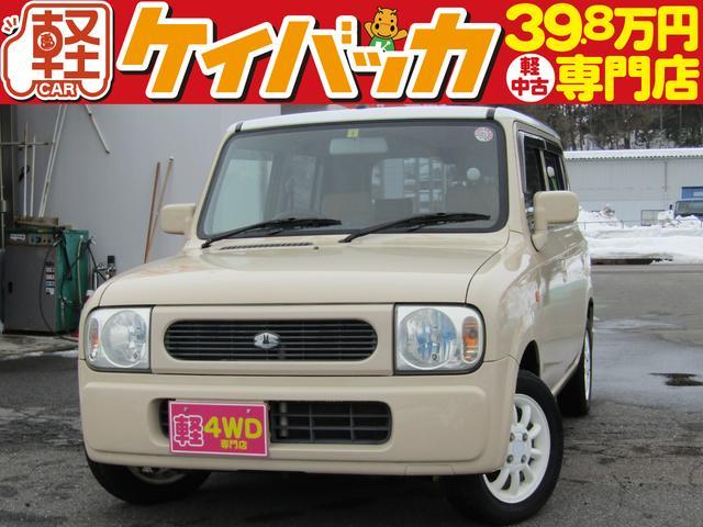 スズキ X 4WD CDオーディオ シートヒーター フル装備 キーレス Wエアバッグ